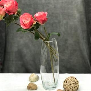 Lọ thủy tinh cắm hoa dáng trụ búp – có nhiều kích thước để lựa chọn