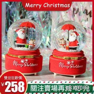 Hộp Nhạc Giáng Sinh Xoay Được