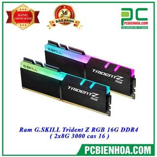 Bộ nhớ DDR4 G.Skill 16GB (3000) F4-3000C16D-16GTZR (2x8GB) mới thumbnail