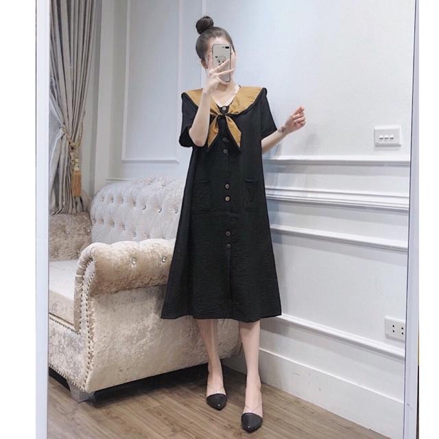 Váy thời trang bigsize bầu bí diện xinh 50-80kg