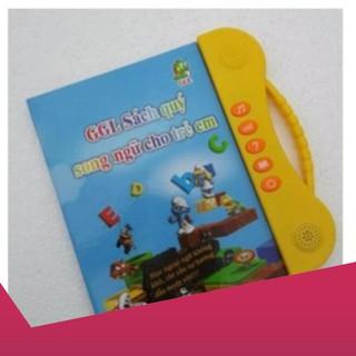 [Giảm 9k cho đơn từ 99k] Sách Nói Điện Tử Song Ngữ Anh- Việt Giúp Trẻ Học Tốt Tiếng Anh Clickbuy365 .