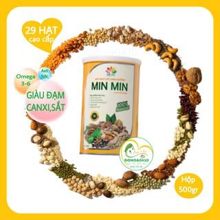 Ngũ Cốc Lợi Sữa Min Min 1KG-Ngũ Cốc Bà Bầu Min Min,Ngũ Cốc Dinh Dưỡng Min Min 29 Loại Hạt thumbnail