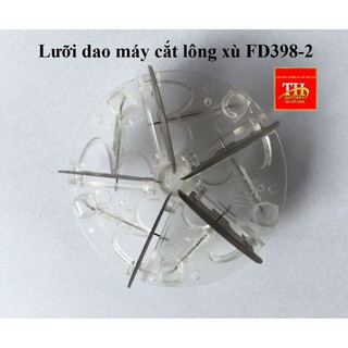 Lưỡi dao và nắp chụp dùng cho máy cắt lông xù FD398-2