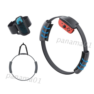 Nama* 1Set Leg Fixing Strap Sport Band Wall Hook Non-Slip Ring-Con Grips for Switch