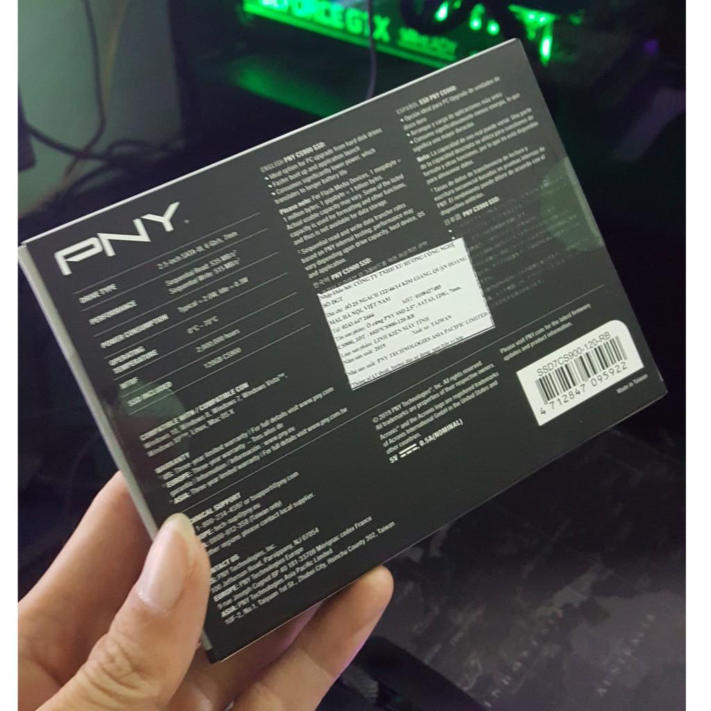 Ổ cứng SSD PNY 120G SATA 3 2.5 inch SSD7CS900-120-RB