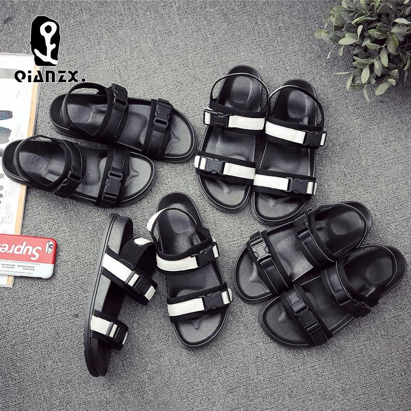 ⊙✣✿Sandals, men's summer outdoor han edition fashion trend antiskid individuality student joker leisure slippers sanda