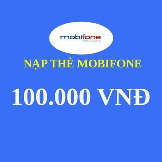 Thẻ cào Mobi 100k