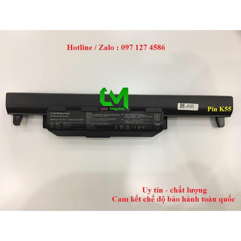 Pin Laptop Asus K55 K55A K55VD X45C A45 K45 K45A K45V X55C X55A Giá chỉ 350.000₫