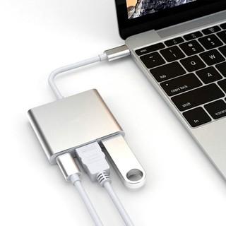 [ĐỦ MÀU] HUB Chuyển Đổi Đầu USB Type C Đa Năng Dành Cho Macbook Air Retina Pro