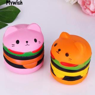 Đồ chơi Squishy hình bánh hamburger (ngẫu nhiên)