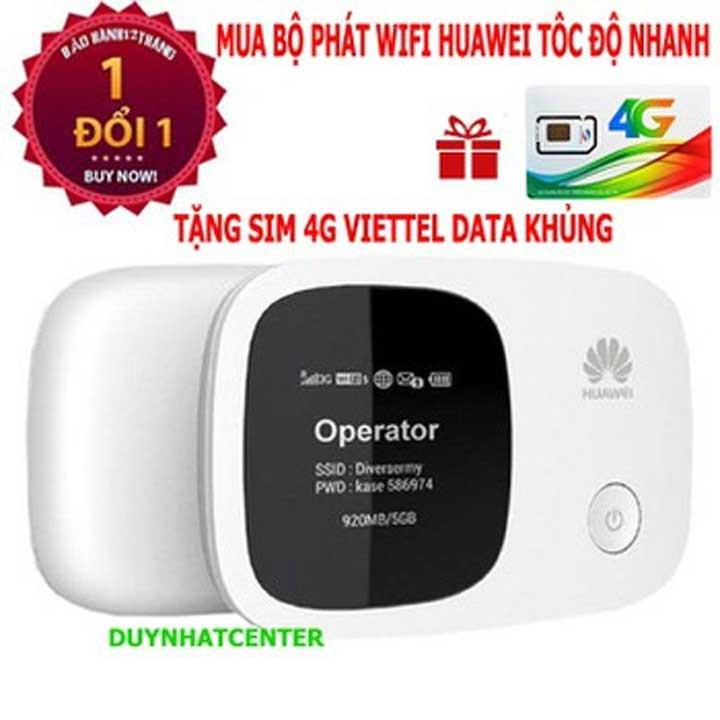 Cục phát Wifi Huawei E5336 chính hãng – Bảo hành 12 tháng – khuyến mãi sim 4G DATA LỚN Giá chỉ 419.000₫