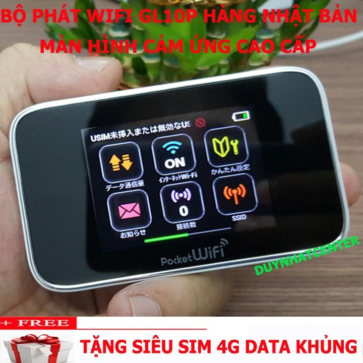 (GIÁ ĐẸP NHƯ HÀNG) Bộ phát wifi không dây Huawei GL10P màn hình cảm ứng công nghệ 4.0 đời mới nhất,pin cực trâu 10 tiếng