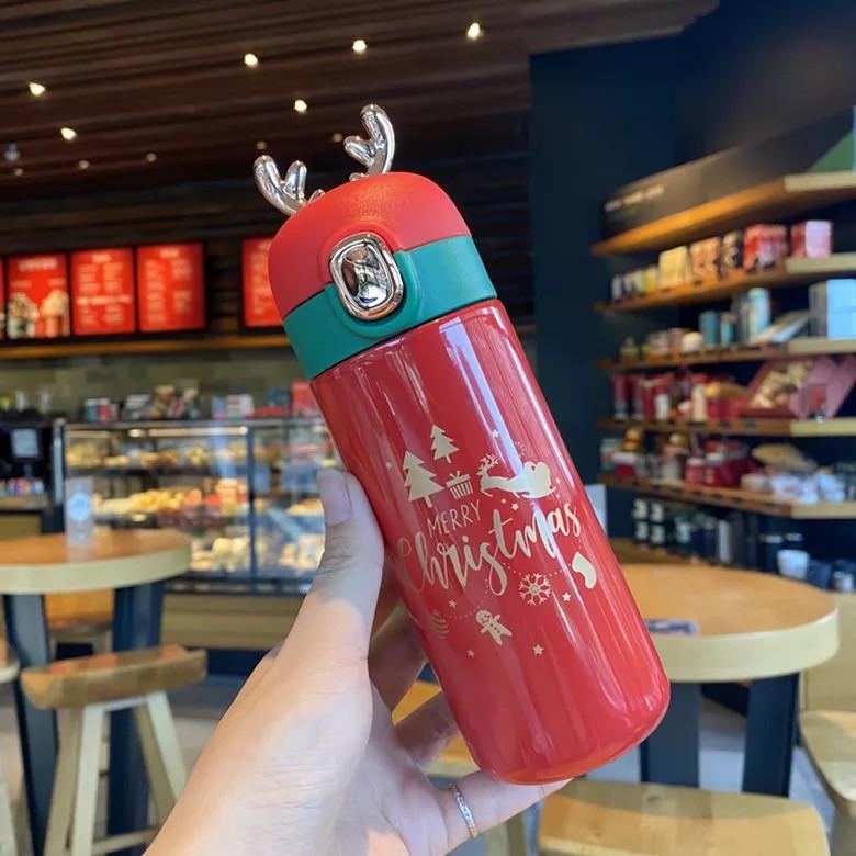 Bình giữ nhiệt Giáng Sinh Noel Merry Christmas 350ml