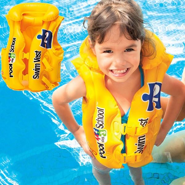 Áo phao bơi Intex chính hãng 58660 | Shopee Việt Nam
