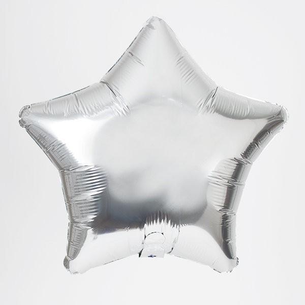 ( Sẵn ) Bong bóng kiếng Ngôi sao bạc nhỏ Star Foil balloon