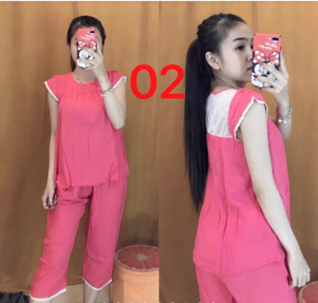 Bộ quần áo lửng mặc ở nhà, bộ đồ nữ mặc ở nhà ( chất lanh Hàn Quốc) - 3402675 , 1019661185 , 322_1019661185 , 230000 , Bo-quan-ao-lung-mac-o-nha-bo-do-nu-mac-o-nha-chat-lanh-Han-Quoc-322_1019661185 , shopee.vn , Bộ quần áo lửng mặc ở nhà, bộ đồ nữ mặc ở nhà ( chất lanh Hàn Quốc)