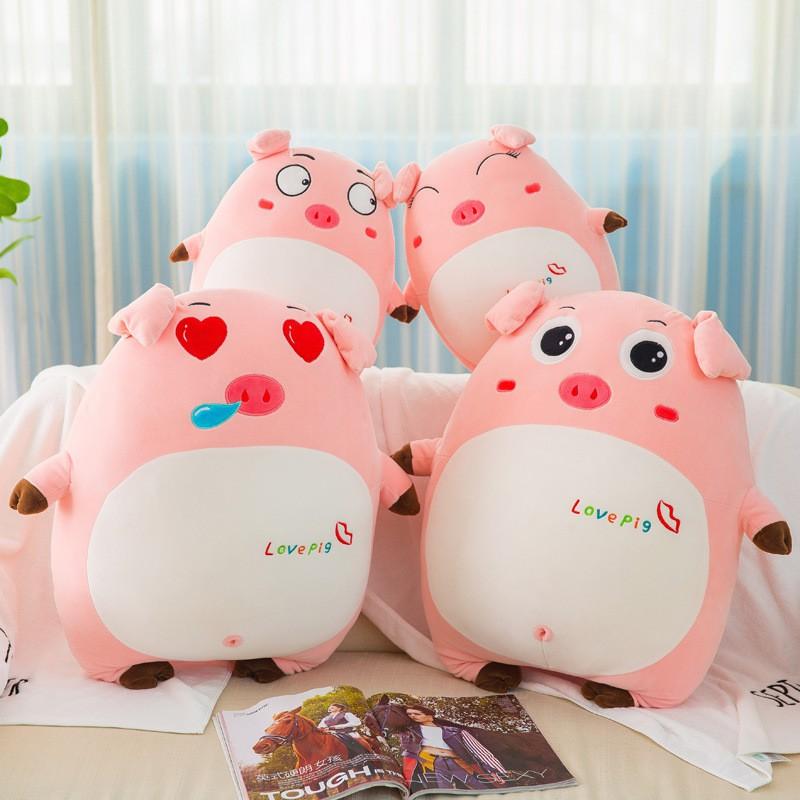 Gấu bông – Lợn Bông Cute – Quà tặng Quà sinh nhật ý nghĩa (khách chat với shop nếu muốn đặt size lớn hơn)