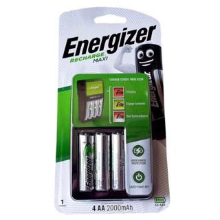 Bộ Sạc Nhanh Tự Ngắt Energizer Kèm 4 Pin AA 2000 mAh – CHVCM4