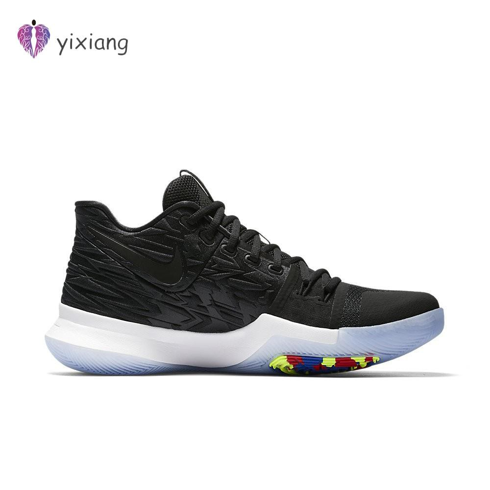 KSK@ ของแท้ !!!! พร้อมส่ง รองเท้าผ้าใบ Nike รุ่น NIKE KYRIE 3 สีดำ