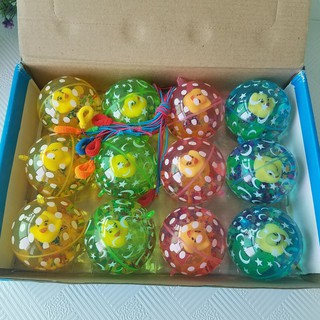 6.5 cm with rope pattern, bouncy ball, crystal ball, plastic toy