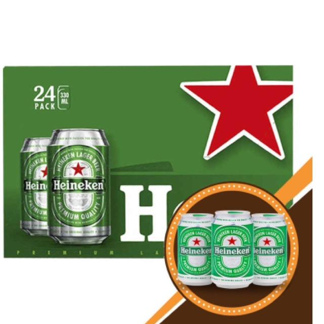 Bia Heineken 24*330ml