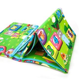 Thảm xốp Maboshi 2 mặt! 1m6x2mThảm chơi cho bé! Hoạ tiết bảng chữ cái và rau củ quả ạ. K thấm nước, dễ dàng vệ sinh nhé.