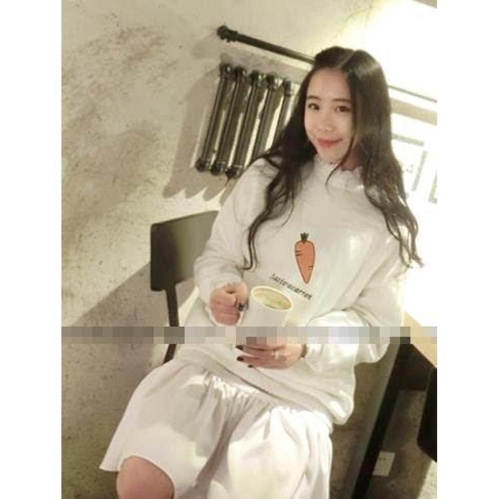 new Tucky&Jiang เสื้อแฟชั่น แขนยาว ลายผลไม้ 3152ew Tucky&Jiang เสื้อแฟชั่น แขนยาว ลายผลไม้ 3152
