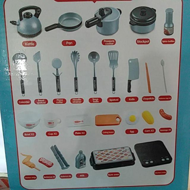 Bộ mô hình nấu ăn pin h335A