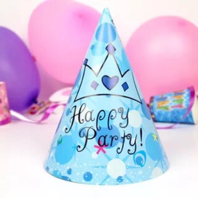 Combo 6 mũ sinh nhật cho bé