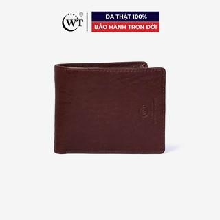 Ví Da Nam Da Bò Cao Cấp Màu Nâu, Màu Đen WT Leather 0864.1, 0864.2 thumbnail