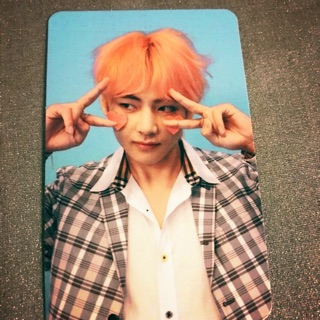 Card Taehyung(V) BTS album LYS ANSWER VER F