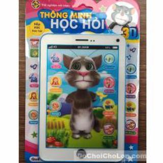 Vỉ đồ chơi Ipad mèo Tom Cat 3D thông minh dùng pin có nhạc cho bé