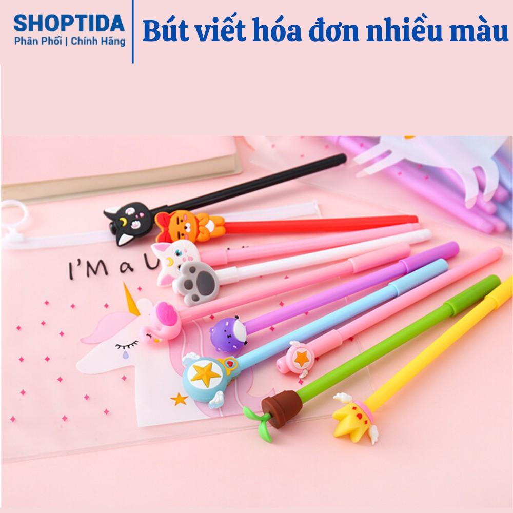 Bút ghi nhiều màu Shoptida hình ngộ nghĩnh, dễ thương 0.5mm 1 chiếc hình ngẫu nhiên