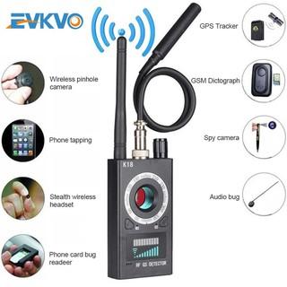 Máy dò tín hiệu K18 đa năng phát hiện thiết bị theo dõi GPS máy quay ống kính từ tính tín hiệu wifi thumbnail
