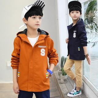 áo khoác bé trai , áo khoác trẻ em từ 5 đến 14 tuổi D533