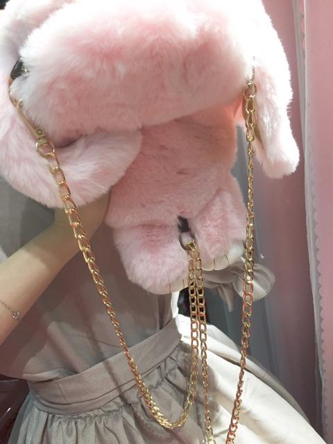 [có sẵn] Túi thỏ nguyên con túi xách Lolita
