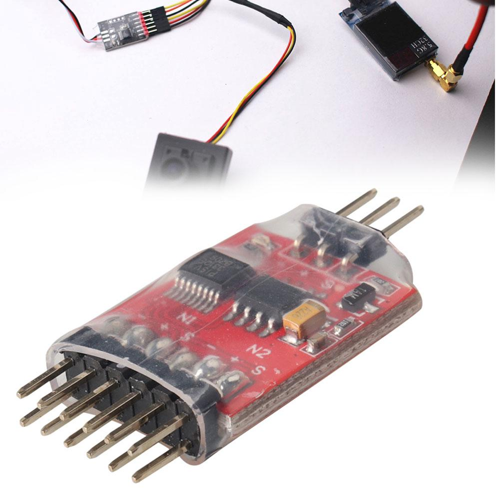 3 Channel 5.8G Unit Way Video Switcher Module For RC FPV Camera