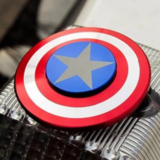 Con quay Fidget Spinner Captain American cho bé cực chất siêu tiện dụng