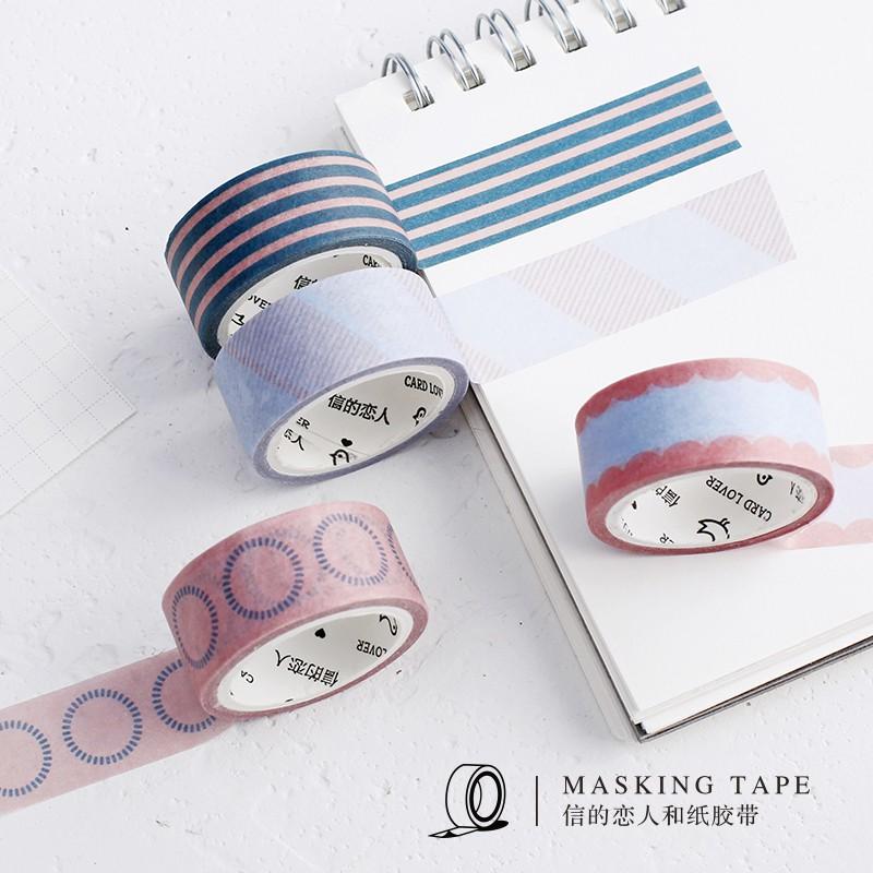 4 cuộn băng dính in chữ cho cặp đôi