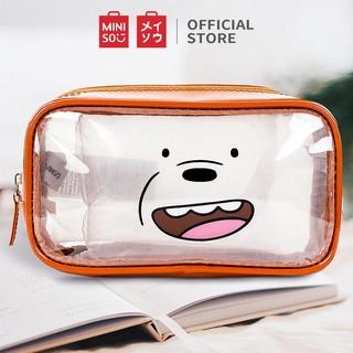 [Mã MINIJUPA giảm 10% tối đa 20K đơn 70K] Túi đựng mỹ phẩm Miniso Bare Bears (Nhiều màu) - Hàng chính hãng thumbnail
