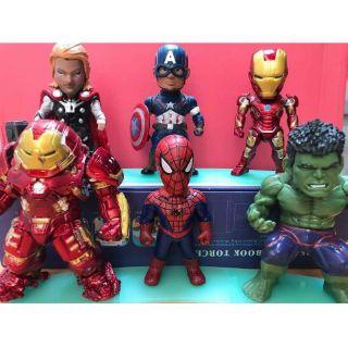 Bộ đồ chơi mô hình siêu anh hùng avengers có sẵn