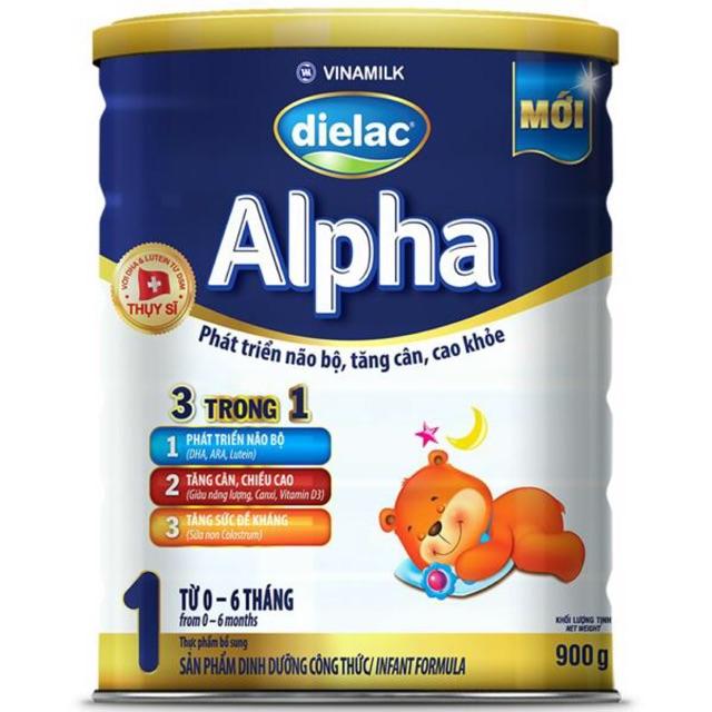 Sữa Bột Dielac Alpha step 1  lon