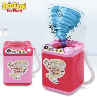 Máy giặt Quần áo Mini cửa trên có thể Giặt – Đồ chơi trẻ em Máy giặt mini – Thiết bị gia đình Đồchơitrẻem