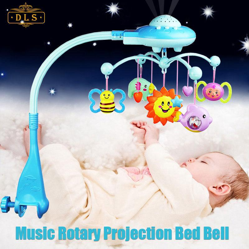 DEL Bed Bell Baby Rattles 0-12 Months Bracket Lovely