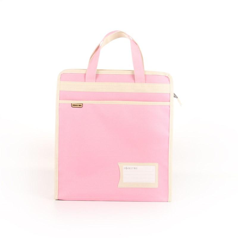 กระเป๋าผ้าใบหนาโรงเรียนประถมถุงเสริมกระเป๋าศิลปะถุงกันน้ำคู่ขนาดเล็กกระเป๋าสอนกร