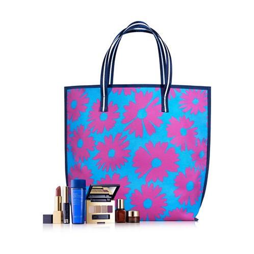 Túi xách Estee Lauder 2017 nền xanh hoa màu hồng - 13720627 , 1668078608 , 322_1668078608 , 110000 , Tui-xach-Estee-Lauder-2017-nen-xanh-hoa-mau-hong-322_1668078608 , shopee.vn , Túi xách Estee Lauder 2017 nền xanh hoa màu hồng