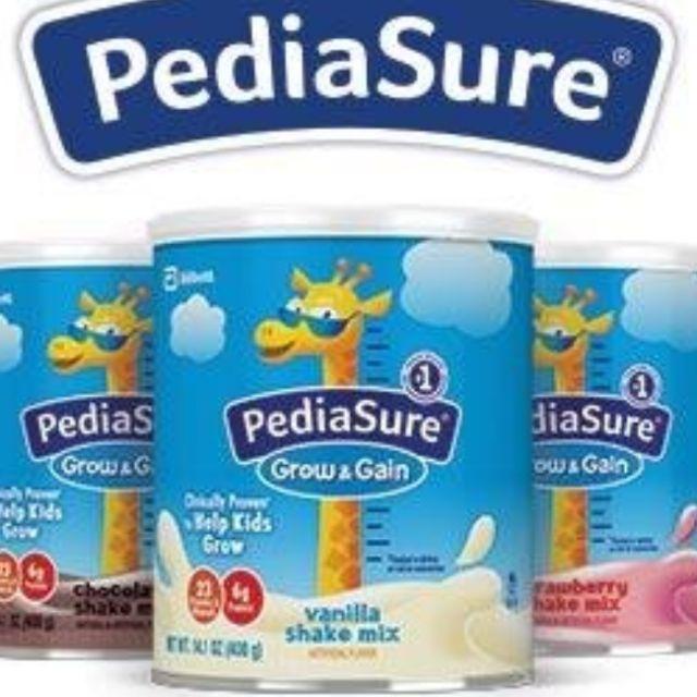 (Mẫu mới 2/2020) Sữa Pediasure Grow & Gain vị Vanilla, Chocolate và Dâu nhập từ Mỹ