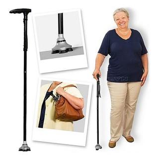 [Mã SRJULY1215 giảm 20K đơn 50K] Cây gậy gấp gọn đa năng dành cho người già có đèn pin thumbnail