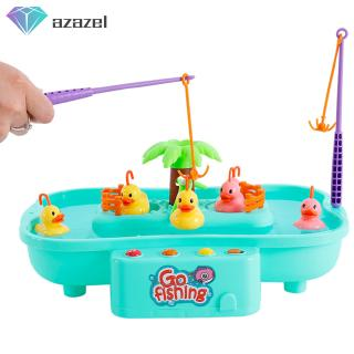Children Puzzle Fishing Toys with Music Playing Water Interactive Games Holiday Gifts