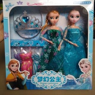 Bup be Elsa và Anna